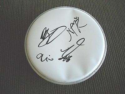 """Fifth Harmony Autographed Signed x4 of 5 8"""" DRUMHEAD PSA Guaranteed"""