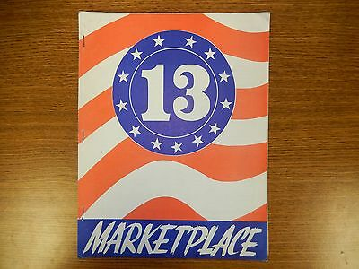 Rare MARKETPLACE Magazine 1973 Chicago -  With Kee Game & Bally Flyers.