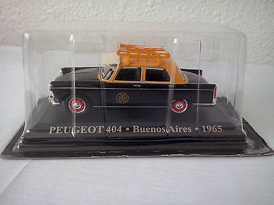 PEUGEOT 404 TAXI BUENOS AIRES ARGENTINA 1965 IXO 1/43 NUEVO NEW MINT IN BLISTER