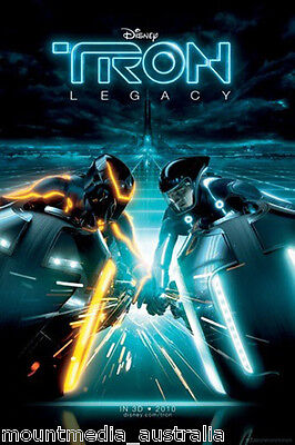 (LAMINATED) Tron Movie Cover POSTER (61x91cm) Picture Print New Art
