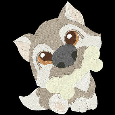 Happy Tails To You - 60 Machine Embroidery Designs (Azeb)