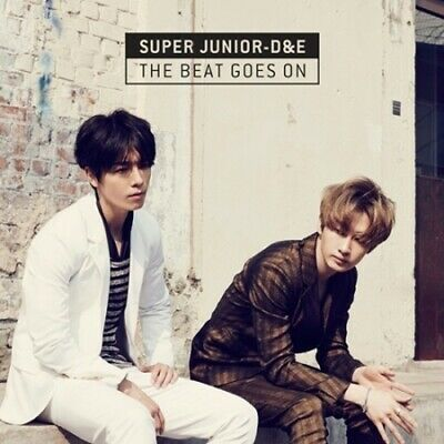<Super Junior> D&E -[THE BEAT GOES ON]CD Sealed K-POP D&E