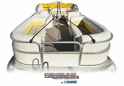 Ridgeline Pontoon Boat Cover Support System Fits up to 28'