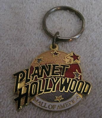BEAUTIFUL - PLANET HOLLYWOOD - MALL OF AMERICA - COLLECTIBLE KEYCHAIN & RING