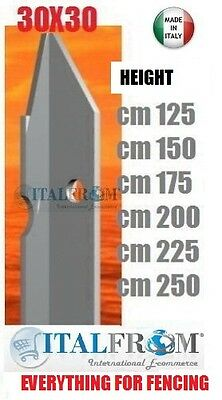 Steel T posts,30x30mm, galvanized wire fencing (packed in 10)