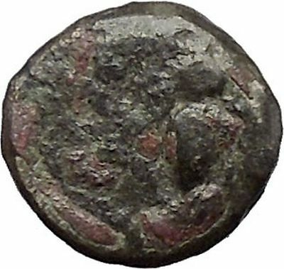 Ephesus Ephesos in Ionia 375BC BEE & FEMALE Authentic Ancient Greek Coin i48253