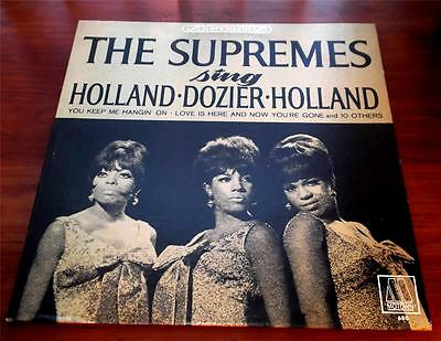 The Supremes  Sing Holland Dozier Holland  1966  Motown  MS-650  Stereo LP
