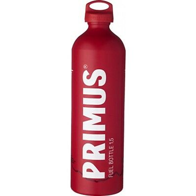 Primus Fuel Bottle 1.5 L litre Red Omnifuel Stove Spare Fuel Container Biker