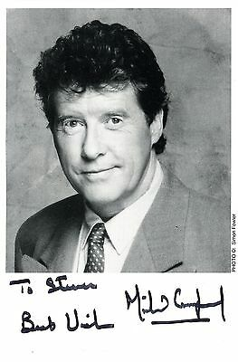 Michael Crawford Phantom Of The Opera Actor & Singer Signed Photo