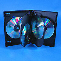 6 Disc VERSApak CD/DVD Case