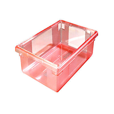 """5 Gallon Red StorPlus(TM) Color-Coded Food Storage Box 18"""" x 12"""" x 9"""""""