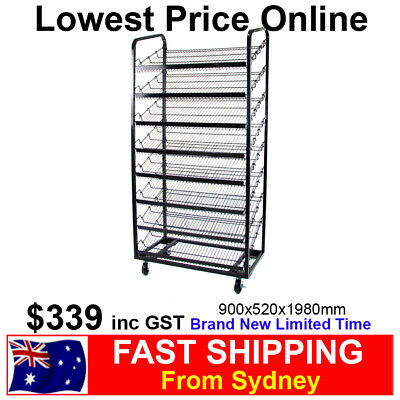 8 Level Angled Bread Stand Rack Shelves for Bakery Store Patisseries Brand NEW!