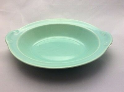 Lu-Ray Pastels Taylor Smith & Taylor Surf Green Oval Serving Bowl Dish 7 40