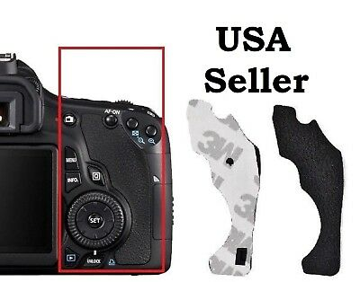 Canon EOS 60D Replacement Back Rear Grip Rubber Cover with Adhesive Tape