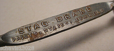 Bottle Can Open Baltimore MD Hirshberg Paint Co Stag Brand Paints Stains Enamels