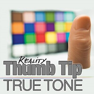 "Adult Reality Thumb Tip MOST REAL AROUND magic trick Includes 6"" Silk Easy to do"