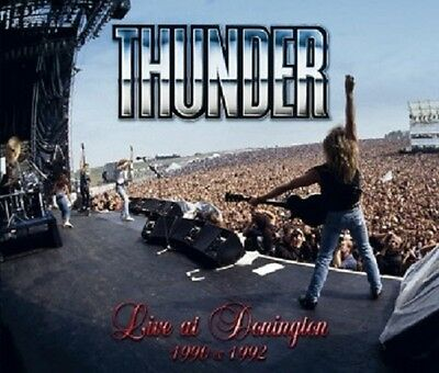 Thunder - Live At Donington 2 Cd + Dvd New+