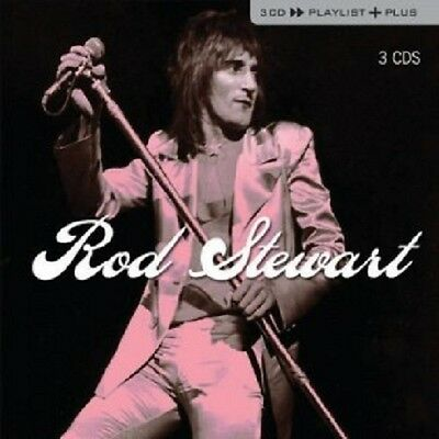 ROD STEWART - PLAYLIST PLUS (BOX-SET) 3 CD  30 TRACKS ROCK & POP BEST OF  NEW+