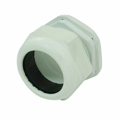 Plastic Waterproof Connector 35-45mm Dia Cable Gland PG48 Light Green