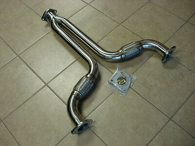 TOP SPEED Exhaust Y Pipe Pipes 350Z Z33 G35 3.5L VQ35DE 02-06