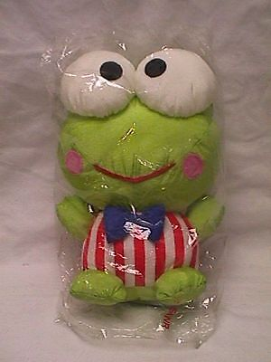 "Vtg 1997 Sanrio KEROPPI Plush Doll 9"" NWT w/Original Bag japan hello kitty"