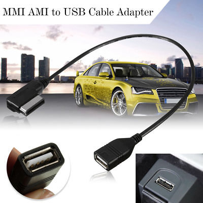 VW AUDI Media-in AMI MDI USB AUX Adapter Cable Flash Drive RCD510 RCD310 RNS510