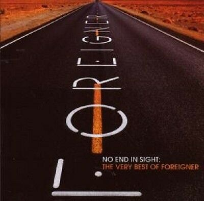 """Foreigner """"no End In Sight The Very Best Of"""" 2 Cd New+"""