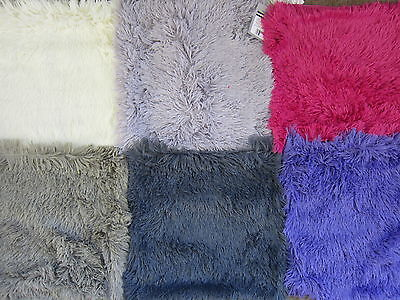 Beam Feature Country Club Soft Long Fur Cushion Covers (6 Colours) Cuf 136245