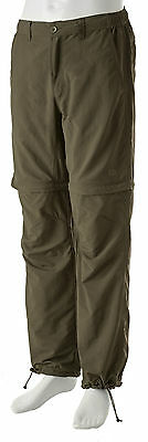 Trakker NEW Quick Dry Green Zip Off Combat Trousers *All Sizes*