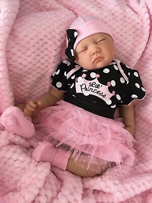 "Reborn Dolls Cheap Baby Girl Realistic 22"" Newborn Real Lifelike Floppy Head"