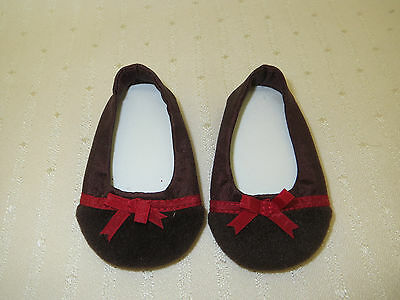 American Girl 2005 Chocolate Cherry Outfit SHOES ONLY
