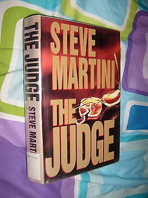 The Judge by Steve Martini 1996 HCDJ GOOD BOOK SHIPS FREE