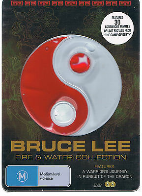 Bruce Lee: Fire And Water Collection (Tin Cover) 2 Disc Set   Dvd