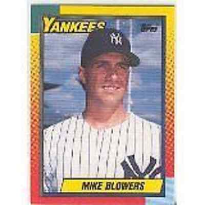 1990 TOPPS TRADED # 9T MIKE BLOWERS RC NEW YORK YANKEES LOT OF 10 MINT