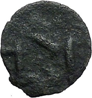 ISTROS Thrace 500BC Wheel Money Authentic Ancient Greek Coin BLACK SEA i48209