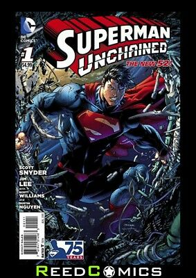 SUPERMAN UNCHAINED #1 (1st Printing) New Bagged & Boarded Scott Snyder, Jim Lee