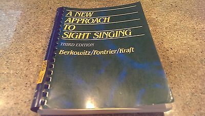 A New Approach to Sight-Singing by Frontier, Kraft and Berkowitz (3RD EDITION)