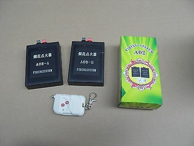 2 Channels fireworks firing system+wedding party system+Salvo fun+Free Shipping
