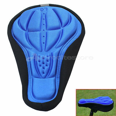 Road Bike Bicycle Cycling Accessories Silicone Saddle Seat Cover Cushion Pad