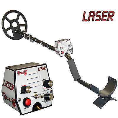 Laser Trident I Metal Detector with Accessories - Hi Freq. Switch On and Go