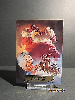 1993 Coca-Cola Santa #S4 Travel Refreshed