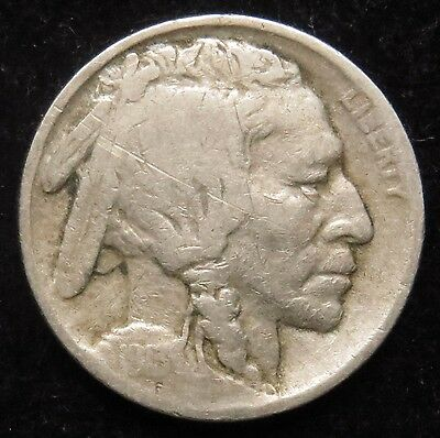 1913 Type 1 Buffalo Indian Head Nickel Good (B05)