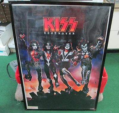 KISS LIMITED NEW RARE POSTER ROCK  2011 FUTURE COLLECTABLE