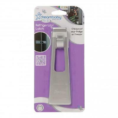 Dream Baby Refrigerator Safety Latch - Silver (for stainless steel appliance)