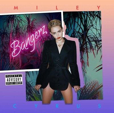 MILEY CYRUS Bangerz CD Brand NEW Deluxe Edition Wrecking Ball Adore You