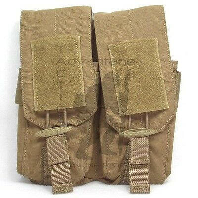 BAE Systems ECLiPSE 5.56 Quad Magazine MOLLE Pouch - coyote brown USMC