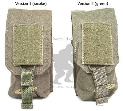 BAE Systems ECLiPSE Single Smoke Canister MOLLE Pouch - ranger green V1