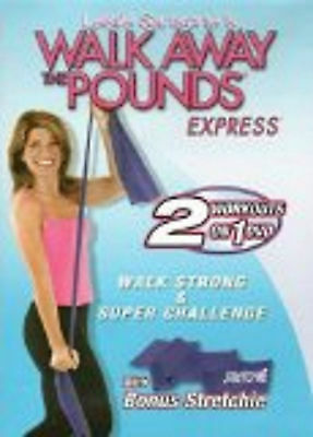 Leslie Sansone WALK STRONG SUPER CHALLENGE w/ STRETCHIE & walk away the pounds