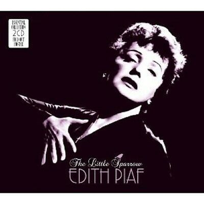 Edith Piaf - The Little Sparrow-Essential Collection 2 Cd New+