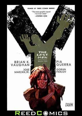 Y THE LAST MAN BOOK 2 GRAPHIC NOVEL New Edition Paperback Collects Issues #11-23
